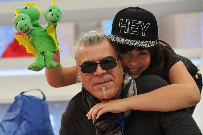 Андрей Давидян с дочерью Катей