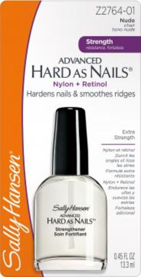 Sally hansen hard as nails ingredients
