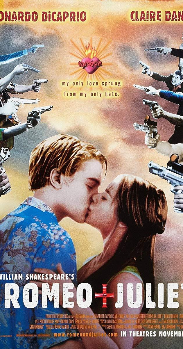 Romeo and juliet dvd with leonardo dicaprio