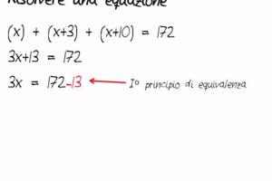 3 Come si risolve un'equazione - Schooltoon