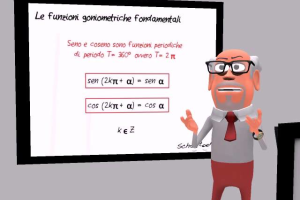 Seno e Coseno - Trigonometria -  Schooltoon