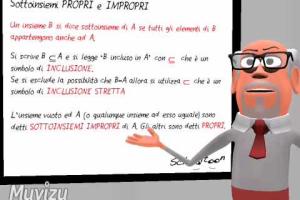 9 Esempio Tradizionale - Sottoinsiemi propri e impropri - Schooltoon