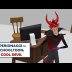 Personaggi: Cool Devil - alias - Dott.Calculus - Schooltoon