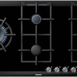 Siemens iQ700 90cm Black Ceramic Glass Gas Hob  iQ700 90 cm Black Ceramic Glass Gas Hob