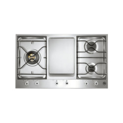 Bertazzoni  90 3 Segment 3 Burner Gas/Griddle Hob 90 3-Segment 3-Burner Gas/Griddle Hob