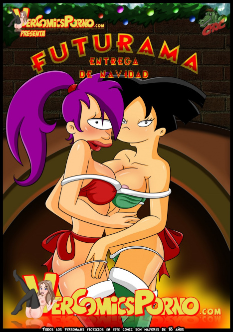 Futurama Christmas delivery Porn comic Cartoon porn comics on Futurama