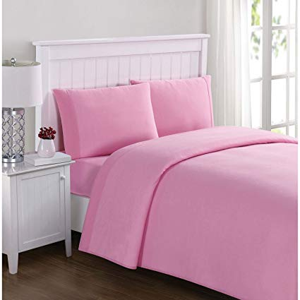 Twin xl sheet sets pink