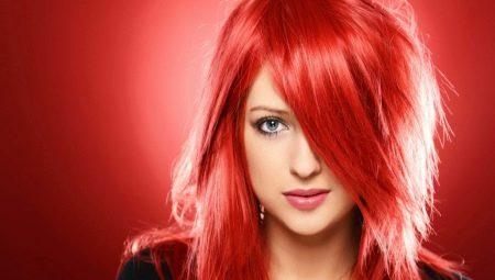 Ярко-красный цвет волос: кому идет и как его получить?
