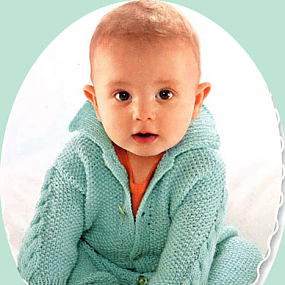 Вязание детского комбинезона