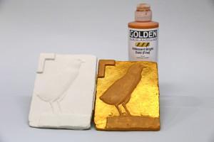 Sealing plaster before painting