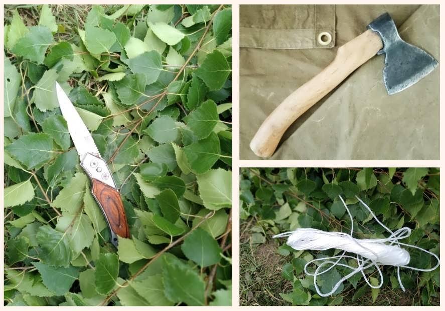 Инструменты для производства веников