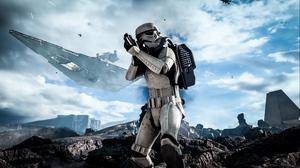 Превью обои star wars, battlefront, electronic arts