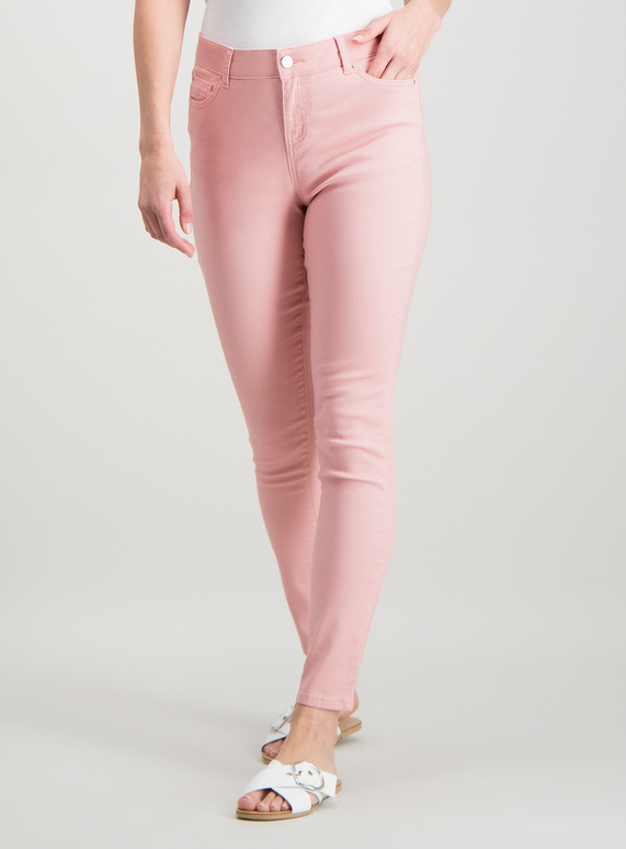 Light pink skinny pants