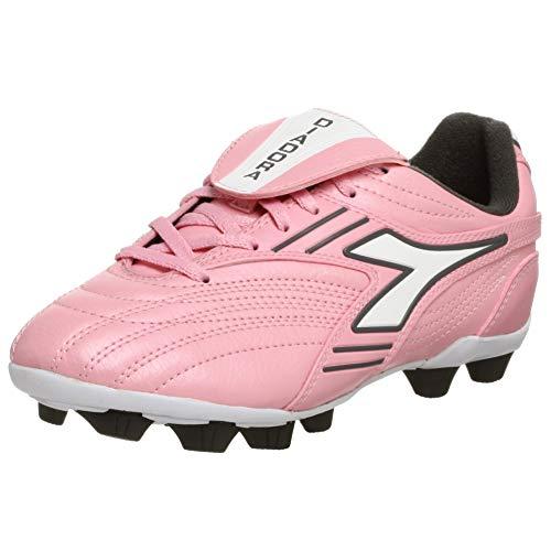 Diadora pink soccer cleats
