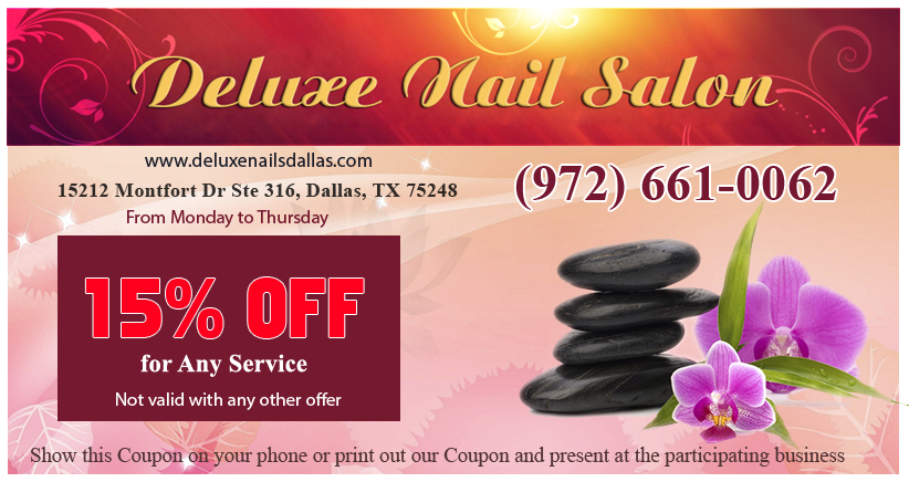 Coupon for nails salon