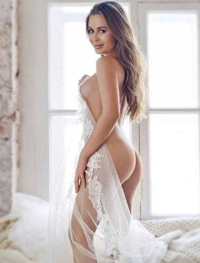 Горячие фото- белая вуаль
