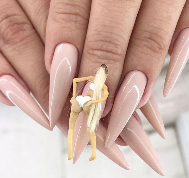 Naughty nails