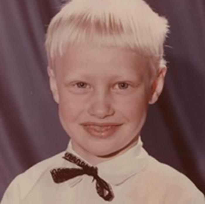 Александр Шпак в детстве