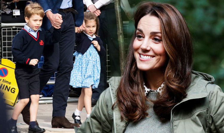 Latest pictures of kate middleton and prince george