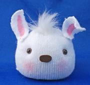 Bunny head Sock Doll