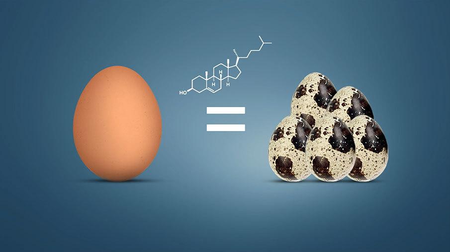 Одно куриное яйцо сколько это перепелиных