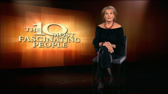Barbara walters most fascinating people 2013 air date