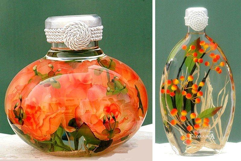 Глицерин и цветы