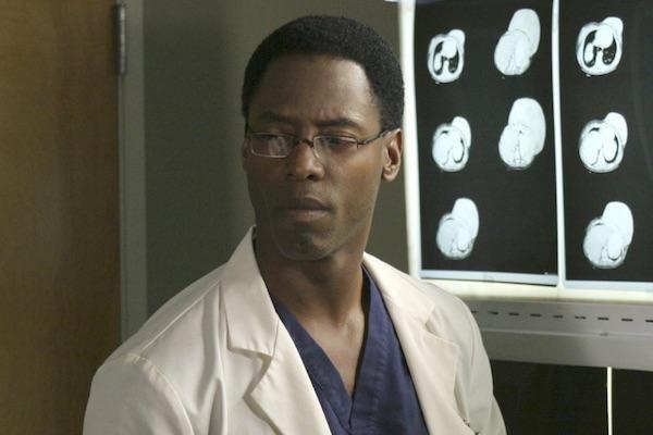 Isaiah Washington from Grey's Anatomy