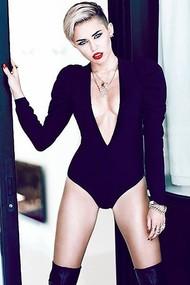 Голая актриса, певица Miley Cyrus фото, эротика, картинки - фотосессия из мужского журнала GQ на Xuk.ru! Фото 11