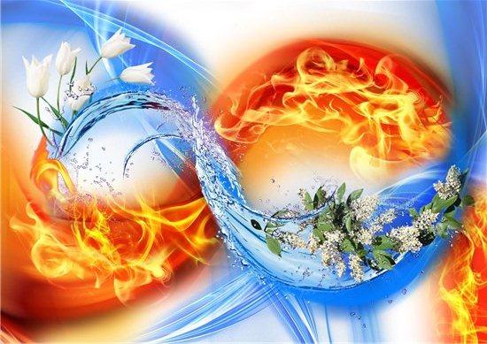 Вода огонь земля воздух это