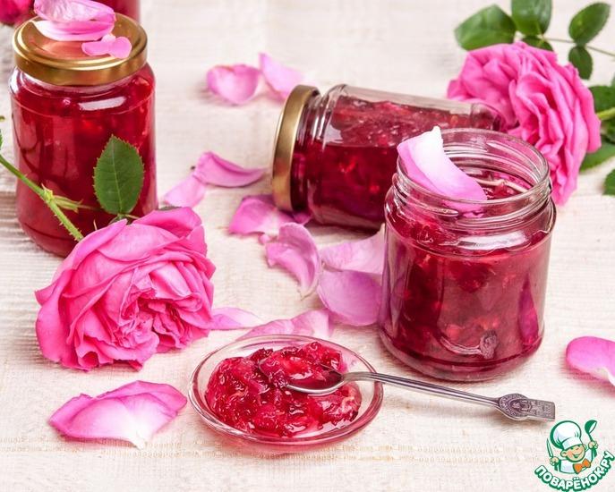 Рецепт варенья из лепестков чайной розы