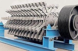Machine à broyer industriel