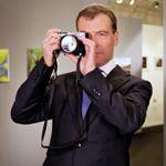 Дмитрий Медведев в Instagram