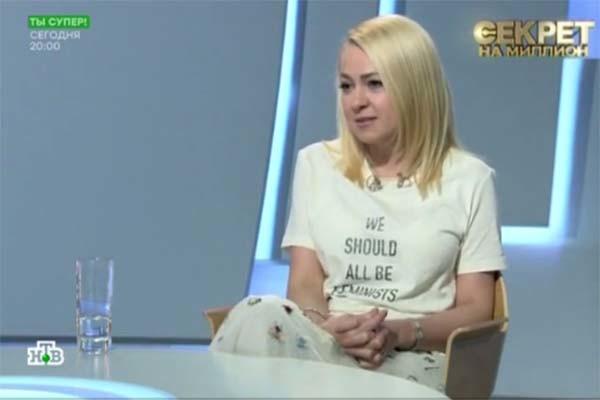 Яна Рудковская рада, что их отношения с Батуриным наладились