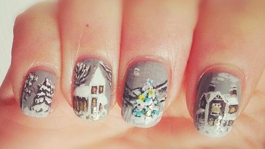 winter nails (2)