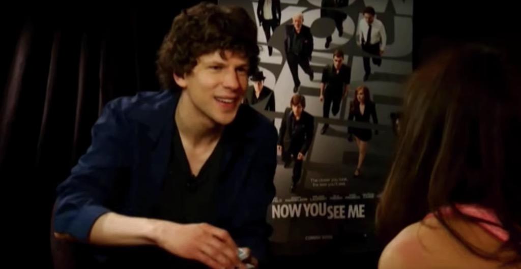 Jesse Eisenberg Outrageous Celebrity Interview