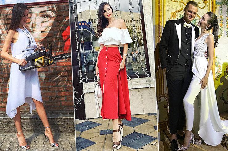 «На спорте» ине только: 13 модных образов изInstagram Анастасии Костенко