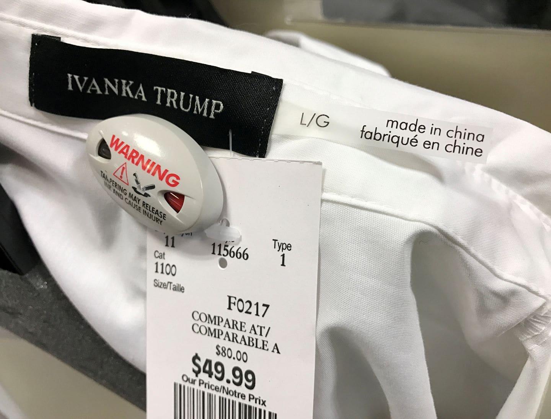 Ivanka trump clothing line