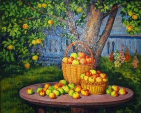 Сценарий праздник яблочный спас