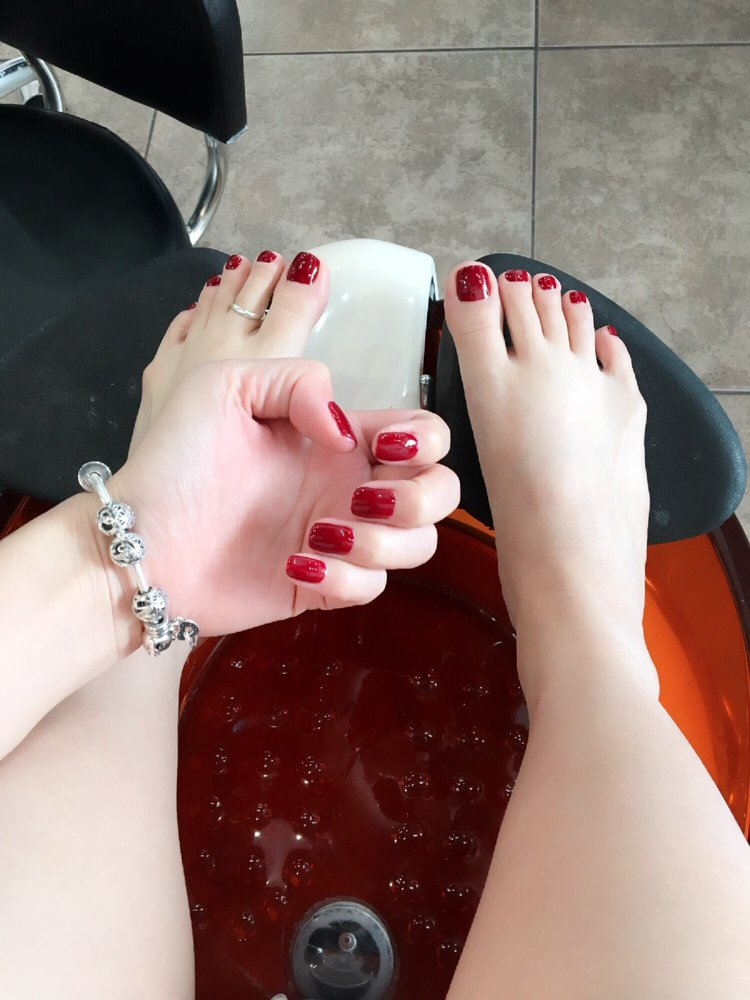 Pink lotus nails las vegas