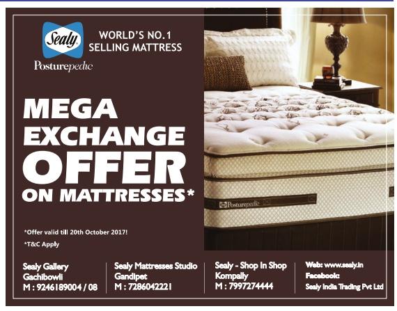 Sealy mattress advertisement