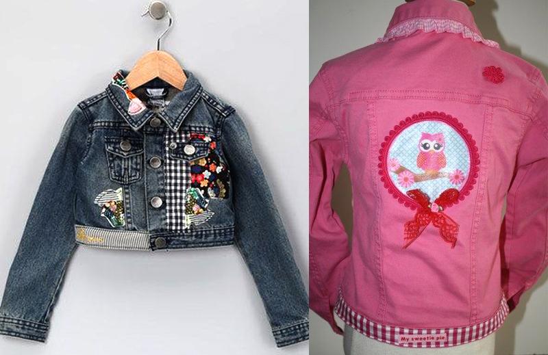 джинс курточки для девочек