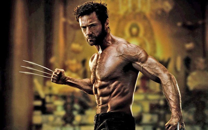 Hugh jackman work out
