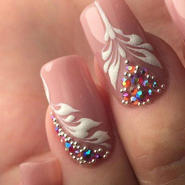 Nails art beauty