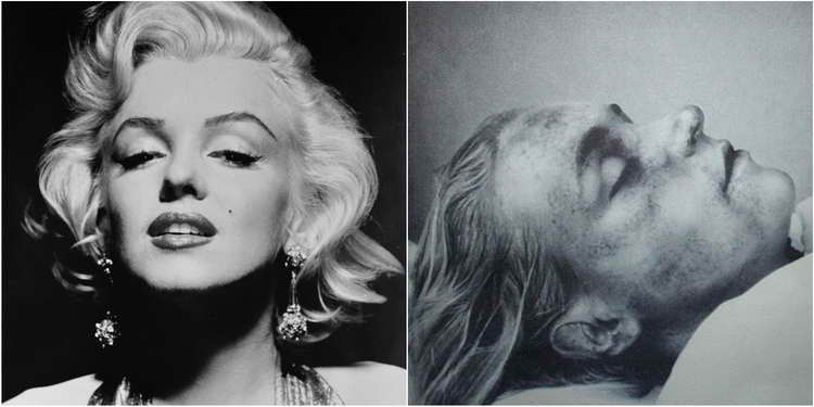 Dead pictures of famous celebrities