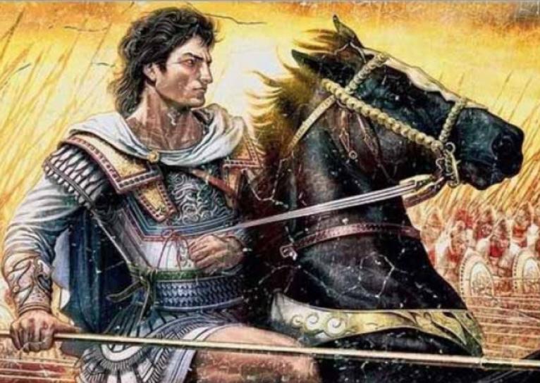Портрет александра македонского