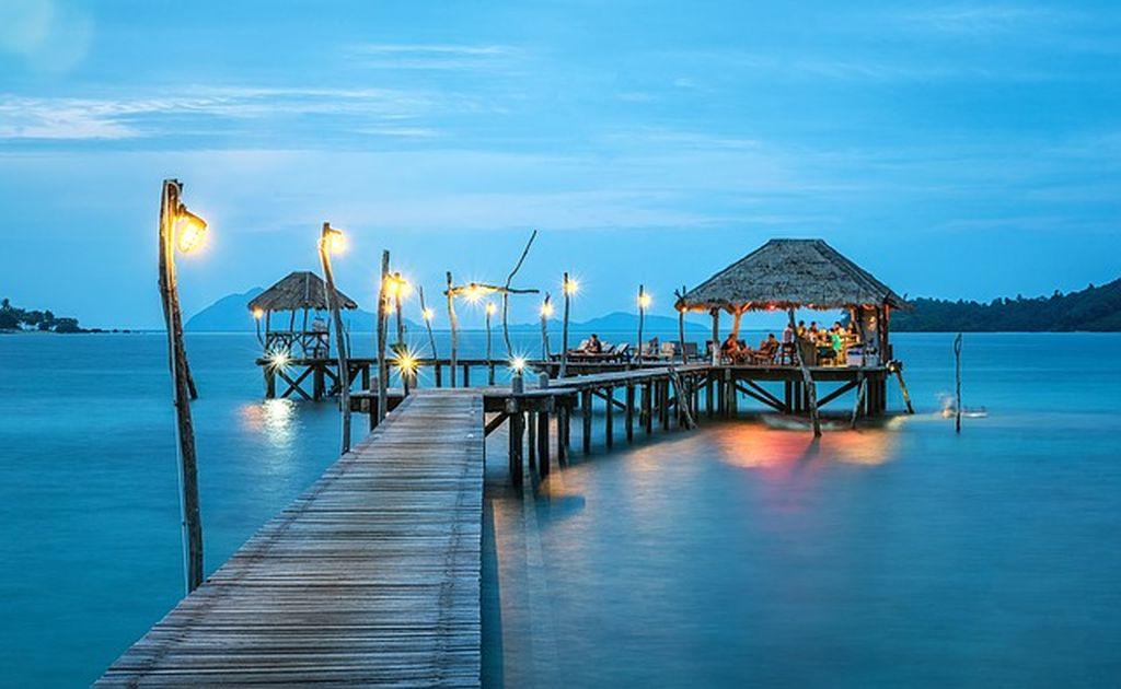 В тайланде какой океан или море