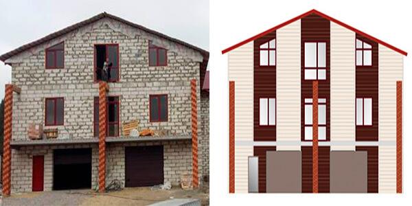 визуализация фасада здания -  D0 91 D0 B5 D1 8E D0 B7  D0 B8 D0 BC D0 B5 D0 BD D0 B8 1 lat1sv - Визуализация фасада здания