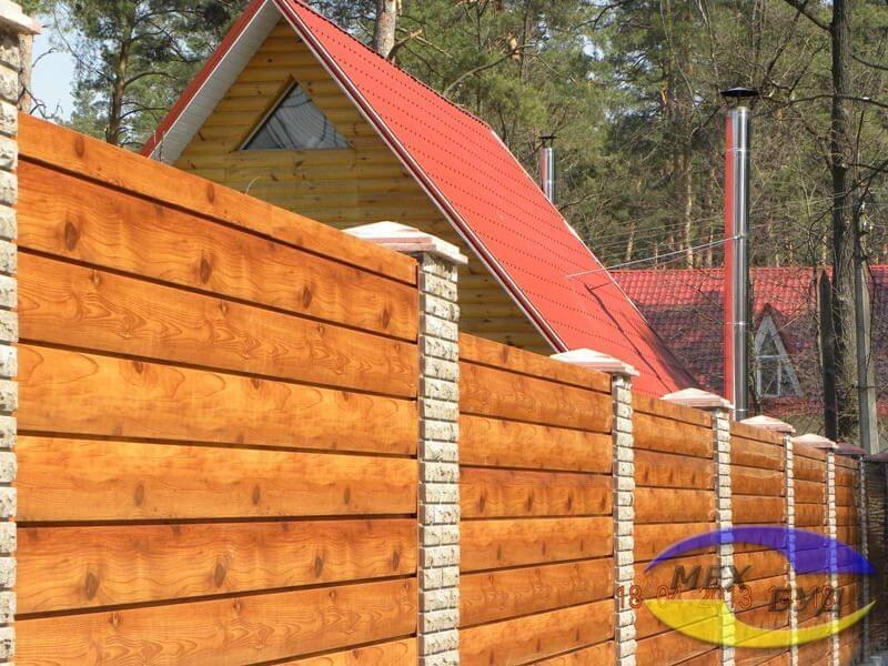 забор - 560 1 puxjmd - Забор для коттеджного городка