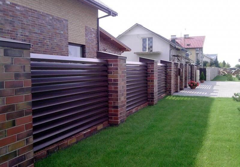 забор - zabor11 1 er66cc - Забор для коттеджного городка